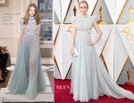 Emily Blunt In Schiaparelli Couture - 2018 Oscars