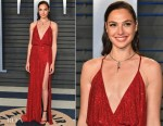 Gal Gadot In Armani Prive - 2018 Vanity Fair Oscar Party