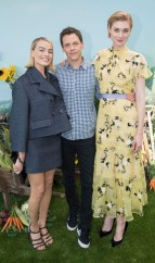 Margot Robbie, Elizabeth Debicki join director Will Gluck for the Peter Rabbit Australian Premiere