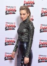 Vanessa Kirby In Erdem - Empire Awards 2018