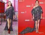 Marion Cotillard In Halpern & Filles à Papa - César Awards 2018