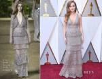 Zoey Deutch In Elie Saab Couture - 2018 Oscars