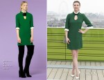 Emily VanCamp In Andrew Gn - 'The Resident' London Photocall