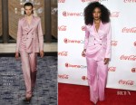 Gabrielle Union In Gabriela Hearst - The CinemaCon Big Screen Achievement Awards