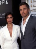 Roselyn Sanchez and Eric Winter attend the premiere of Codeblack Films' 'Traffik'