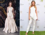 Jennifer Hawkins In Toni Maticevski - The Star Doncaster Mile Luncheon