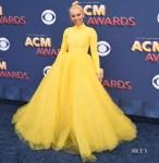 Lindsey Vonn In Christian Siriano - 2018 ACM Awards