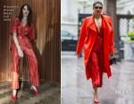Priyanka Chopra In Alejandra Alonso Rojas & Vivienne Westwood - Variety's Women's Empowerment Brunch