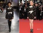 Amber Heard In Giambattista Valli Haute Couture - 'Girls Of The Sun (Les Filles Du Soleil)' Cannes Film Festival Premiere