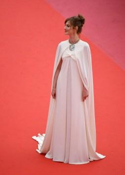 Louise Bourgoin In Giambattista Valli Couture