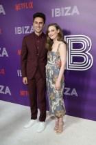 Alex Richanbach and Gillian Jacobs attend Netflix's Ibiza Premiere