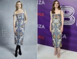 Gillian Jacobs In Brock Collection - Netflix's 'Ibiza' New York Premiere