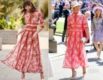 Gina Torres In Costarellos - Prince Harry & Meghan Markle's Royal Wedding