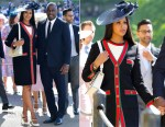 Idris Elba In Givenchy & Sabrina Dhowre In Gucci - Prince Harry & Meghan Markle's Royal Wedding