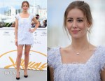 Irina Starshenbaum In Chanel - 'Leto' Cannes Film Festival Photocall