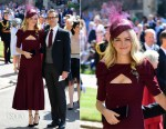 Jacinda Barrett In Emilia Wickstead - Prince Harry & Meghan Markle's Royal Wedding