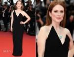 Julianne Moore In Saint Laurent - Yomeddine' Cannes Film Festival Premiere