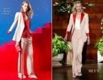 Portia de Rossi In Akris &  L'Agence - The Ellen DeGeneres Show