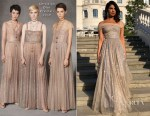 Priyanka Chopra In Christian Dior - Royal Wedding Reception