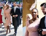 Serena Williams In Atelier Versace - Prince Harry & Meghan Markle's Royal Wedding