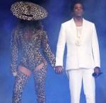 Beyonce Knowles In Mugler - 'On The Run II' Tour