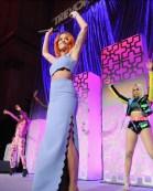 Alex Mugler, Rita Ora, and Tati 007 perform onstage during The Trevor Project TrevorLIVE NYC