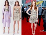 Karen Gillan In Alice + Olivia - 'Ant-Man And The Wasp' LA Premiere