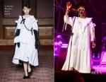 Lauryn Hill In Simone Rocha - Cittadella Music Festival
