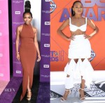 Logan Browning In Solace London & Dion Lee - VH1 Trailblazer Honors & 2018 BET Awards