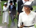 Meghan, Duchess of Sussex In Givenchy - Royal Ascot 2018