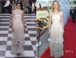 Mia Wasikowska In Christian Dior Haute Couture - 'Damsel' LA Premiere