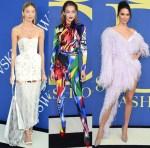 Models @ 2018 CFDA Fashion Awards