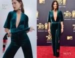 Olivia Munn In Galvan - 2018 MTV Movie And TV Awards