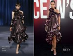 Rihanna In Givenchy - 'Ocean's 8' World Premiere