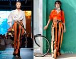 Camila Cabello In Diane von Furstenberg - L'Oreal Paris HAVANA Makeup Collection Launch