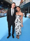 Director Ol Parker and Thandie Newton attend the 'Mamma Mia! Here We Go Again' World Premiere