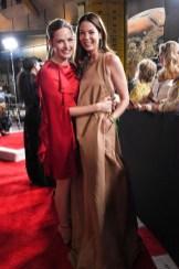 Rebecca Ferguson In Valentino and Michelle Monaghan In Rochas