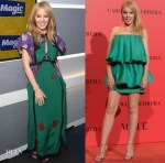 Kylie Minogue In Coach & Emilio de la Morena - Magic Radio & Vogue España 30th Anniversary Party