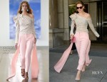 Lily James In Hellessy - The Today Show