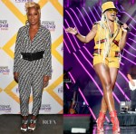 Mary J Blige In Fendi & Gucci - 2018 Essence Festival