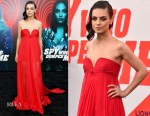 Mila Kunis In Valentino - 'The Spy Who Dumped Me' LA Premiere