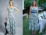Rose Byrne In Brock Collection - Hamptons Magazine Cover Party
