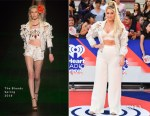 Meghan Trainor In The Blonds - 2018 iHeartRADIO MuchMusic Video Awards
