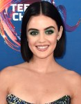 Get The Look: Lucy Hale's Teen Choice Awards Bold Green Beauty