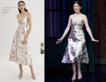Anna Kendrick In Markarian - Late Night with Seth Meyers
