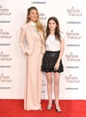 Blake Lively In Ralph Lauren Collection - 'A Simple' Favor' London Premiere