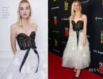 Elle Fanning In Oscar de la Renta - 'Galveston' LA Film Festival Premiere