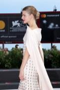 Juli Jakab In Antonio Grimaldi Haute Couture - 'Napszallta' (Sunset) Venice Film Festival Premiere