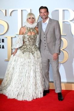 Lady Gaga In Alexander McQueen - 'A Star Is Born' London Premiere