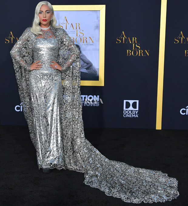 Clare Waight Keller's Most Memorable Moments For Givenchy - Lady Gaga In Givenchy Haute Couture - 'A Star Is Born' LA Premiere